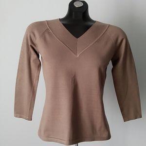 TALBOTS Silk Blend Pullover